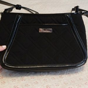 NWOT Black Quilted Vera Bradley Crossbody